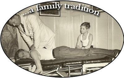 Schroeder Chiropractic Health ... a family history of chiropractors.